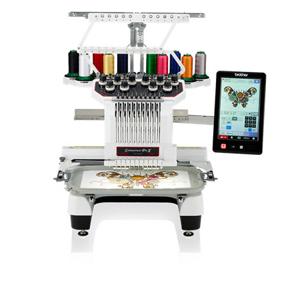 Brother PR1050X Multi-Needle Embroidery Machine