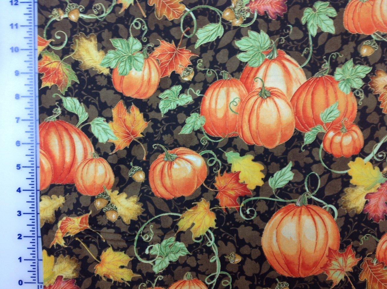 Pumpkins Brown - Harvest Bounty