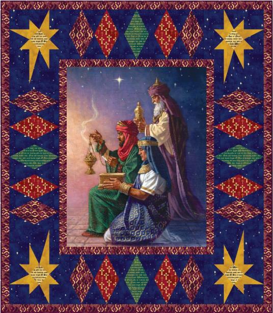 Three Kings Quilt Kit