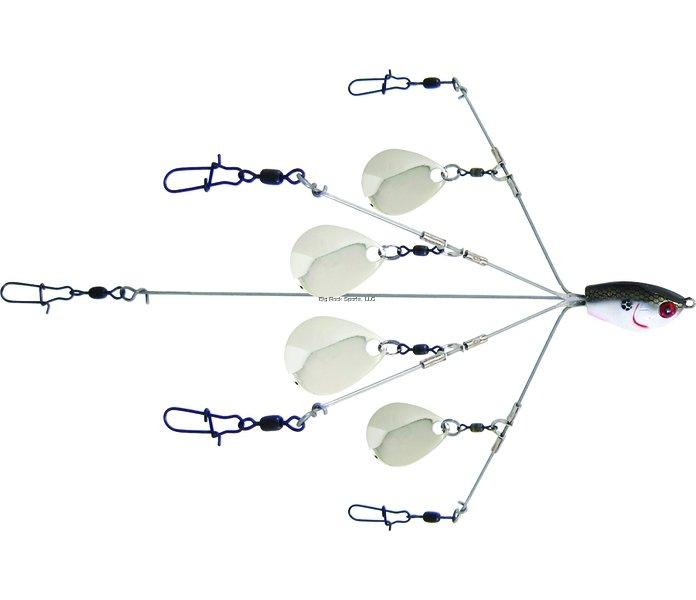 Yum Yumbrella Rig Flash Mob Jr. 5-Wire Colorado Blades