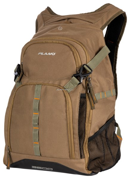 Plano E-Series Olive Backpack - Includes Three 3600 StowAways