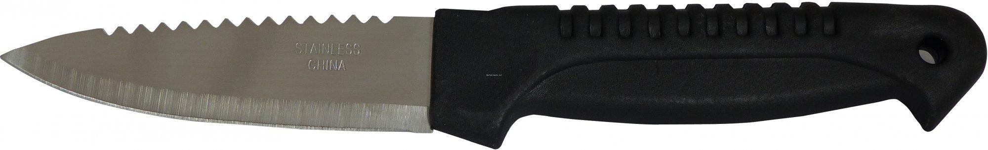 Pucci Bait Knife Nylon Black Handle/Scaler
