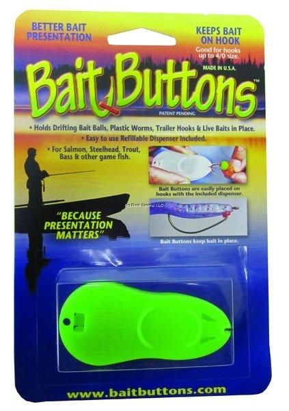 Bait Buttons Dispenser w/100 Original Buttons