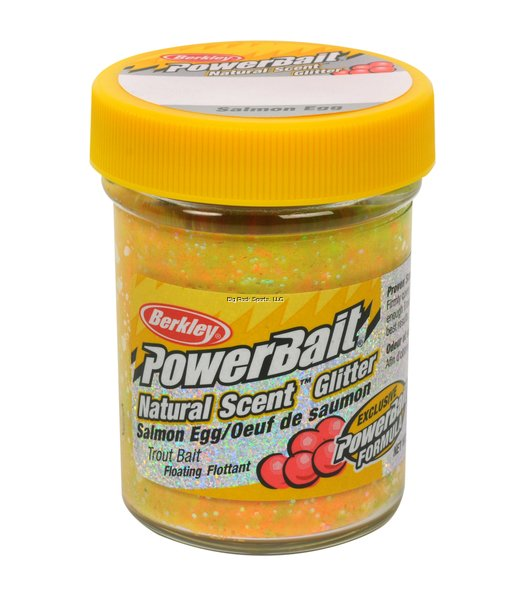 Berkley Powerbait Natural Scent Glitter Trout Baits