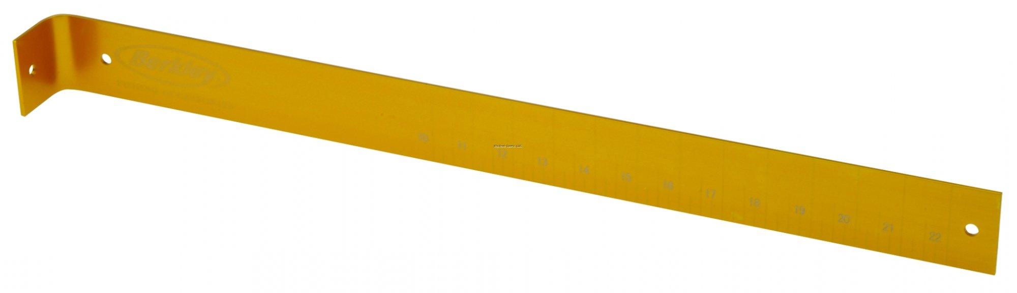 Berkley Aluminum Fish Ruler Gold