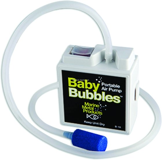 Marine Metal Baby Bubbles 2 AA Air Pump