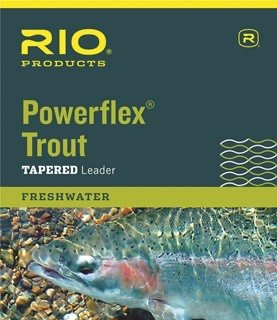 Rio Powerflex Trout Tapered Leaders 3 Pack