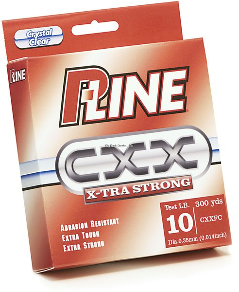 P-Line CXX X-Tra Strong Copolymer Line 300yd Filler Spools