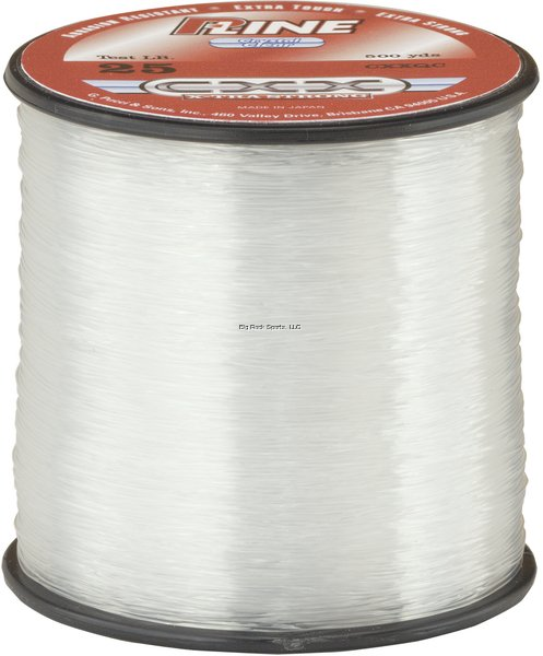 P-Line CXX X-Tra Strong Copolymer Line 600yd Spools