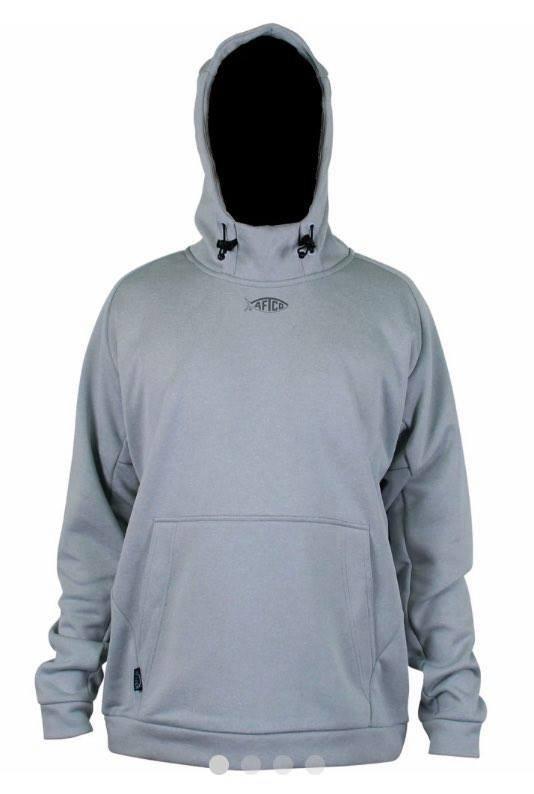 Aftco Shadow Fleece Sweatshirt Gray Heather