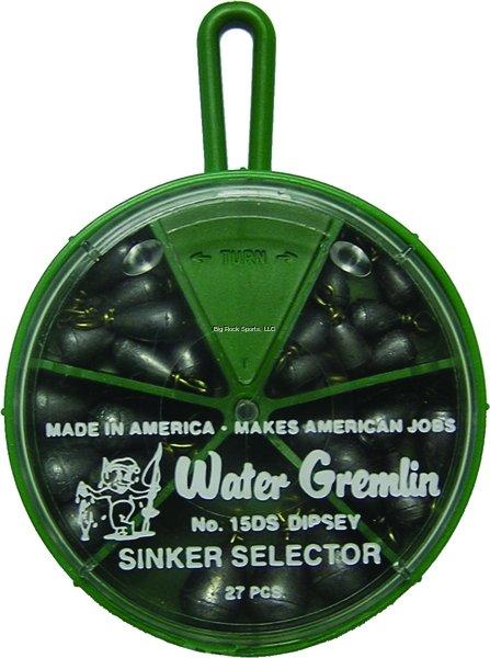 Water Gremlin Dipsey Swivel Sinker Selector