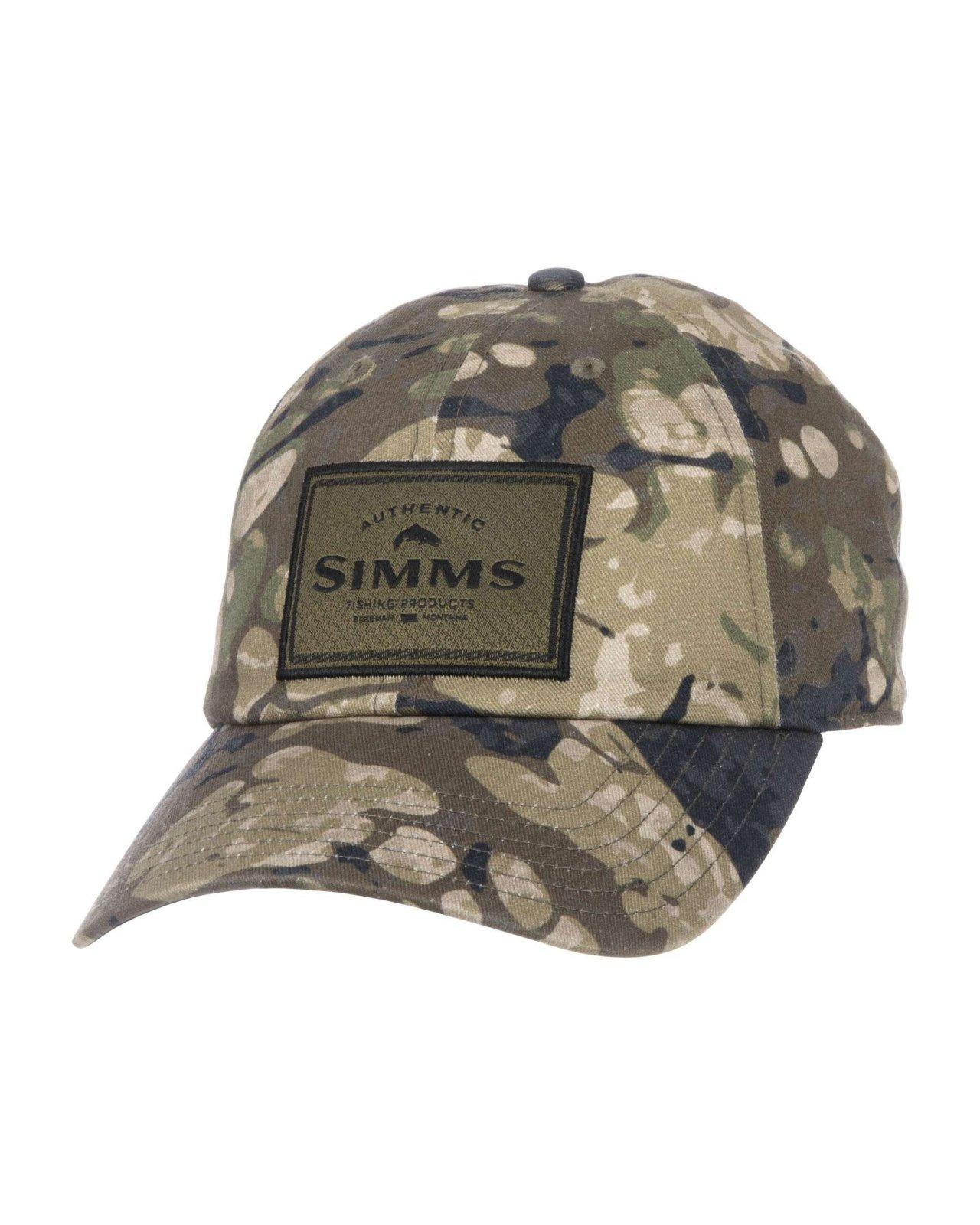 Simms Single Haul Cap Riparian Camo
