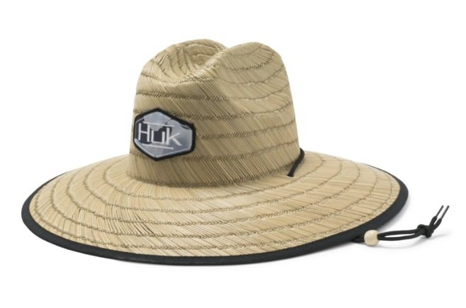 Huk Camo Patch Straw Hats