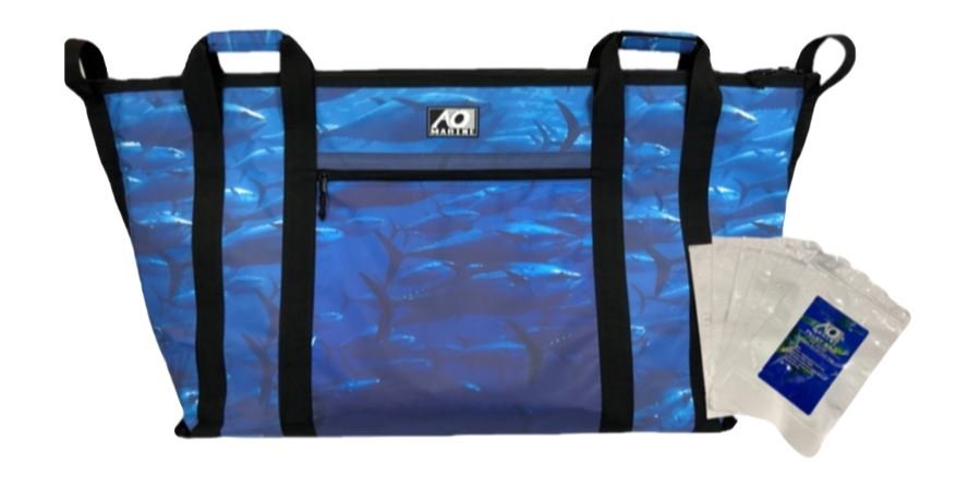 AO Coolers AOMFB4TN Marine 4ft Tuna Kill Bag W/ 2 Fillet Bags
