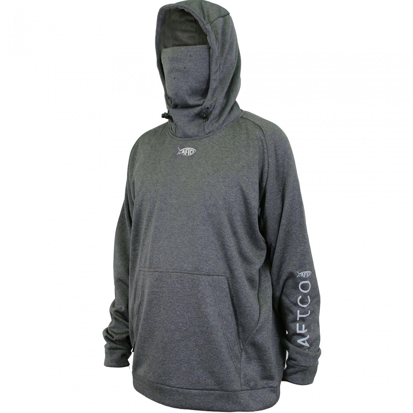 Aftco Reaper Technical Sweatshirt Charcoal Heather