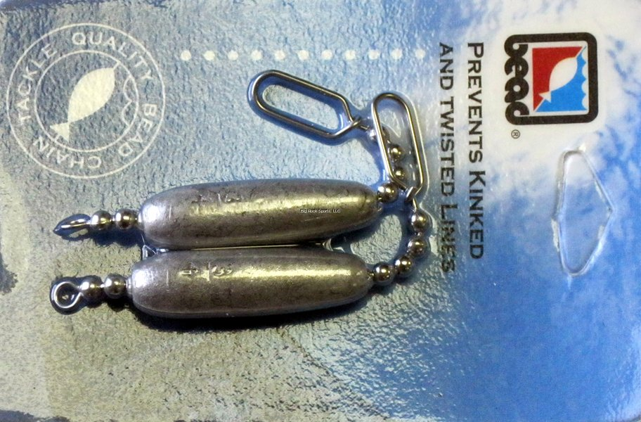 Bead Chain Trolling Sinkers