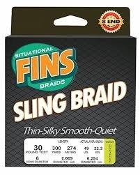 Fins Sling Braided Line - 300yd Spools