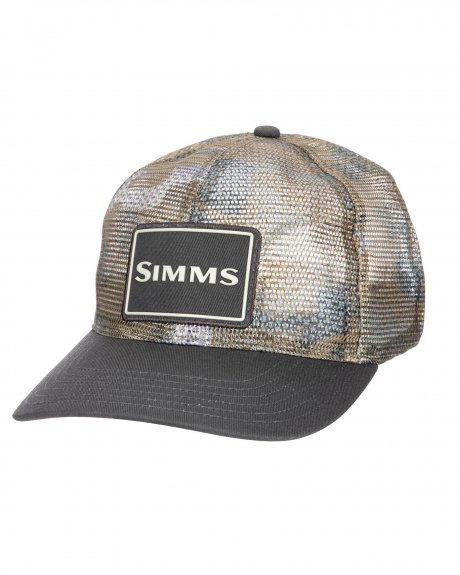 Simms Mesh All Over Trucker Hat