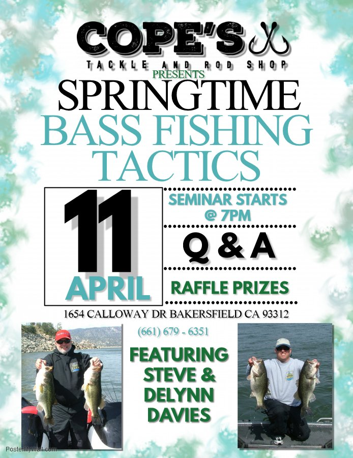 Springtime Bass Fishing Tactics