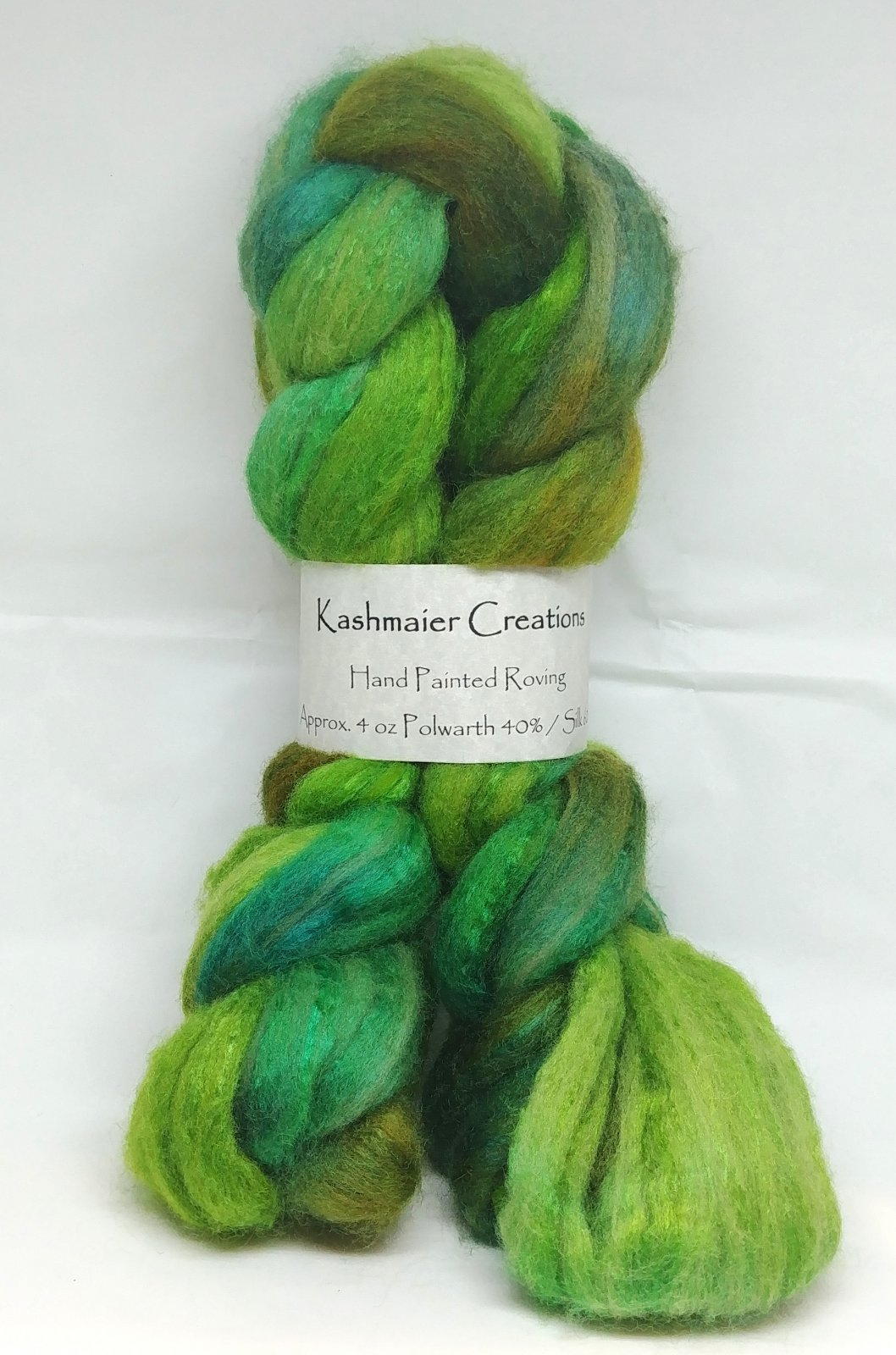 Kashmaier Creations - Hand Painted Roving (Polwarth)