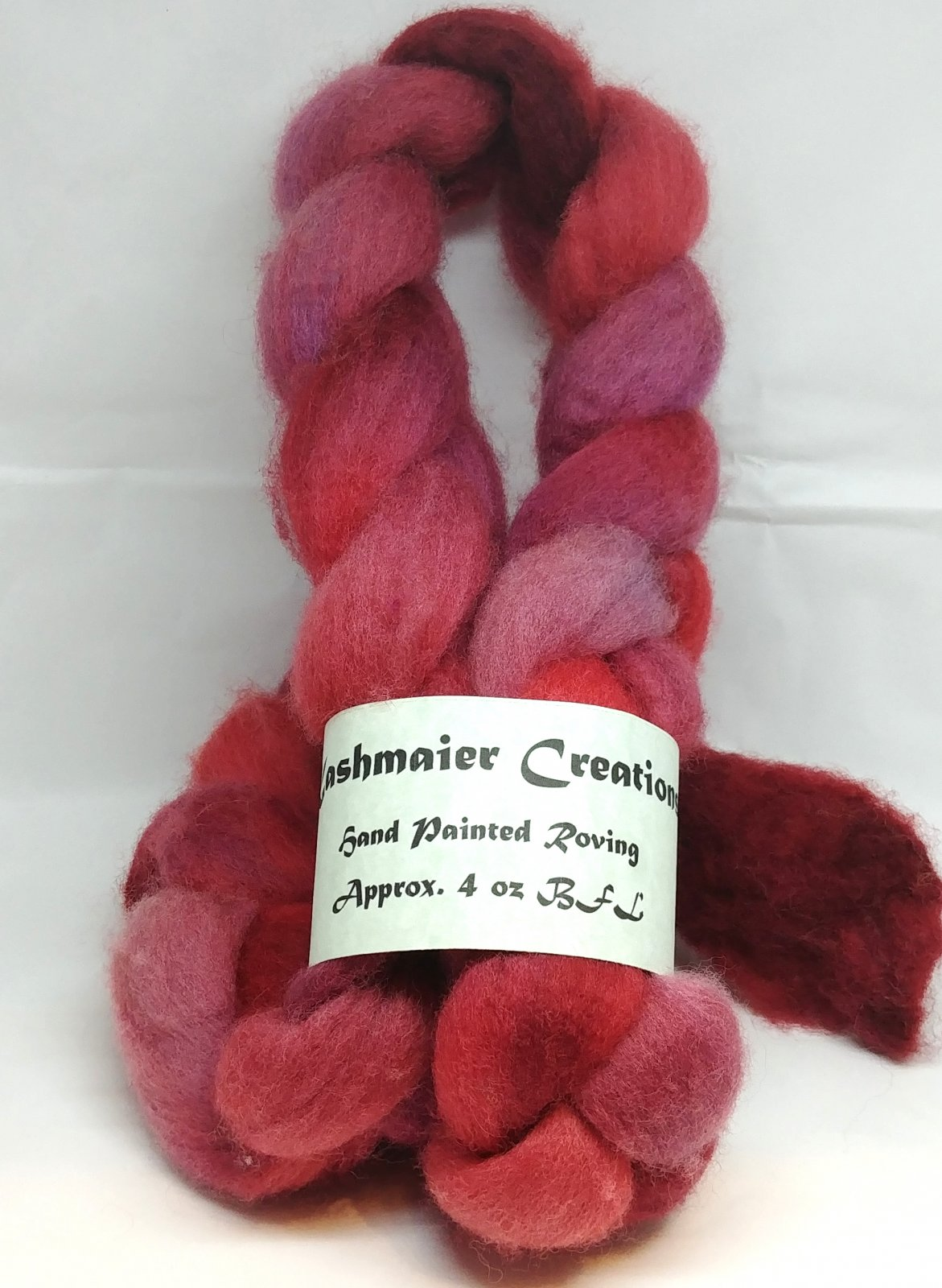 Kashmaier Creations - Hand Painted Roving (BFL)