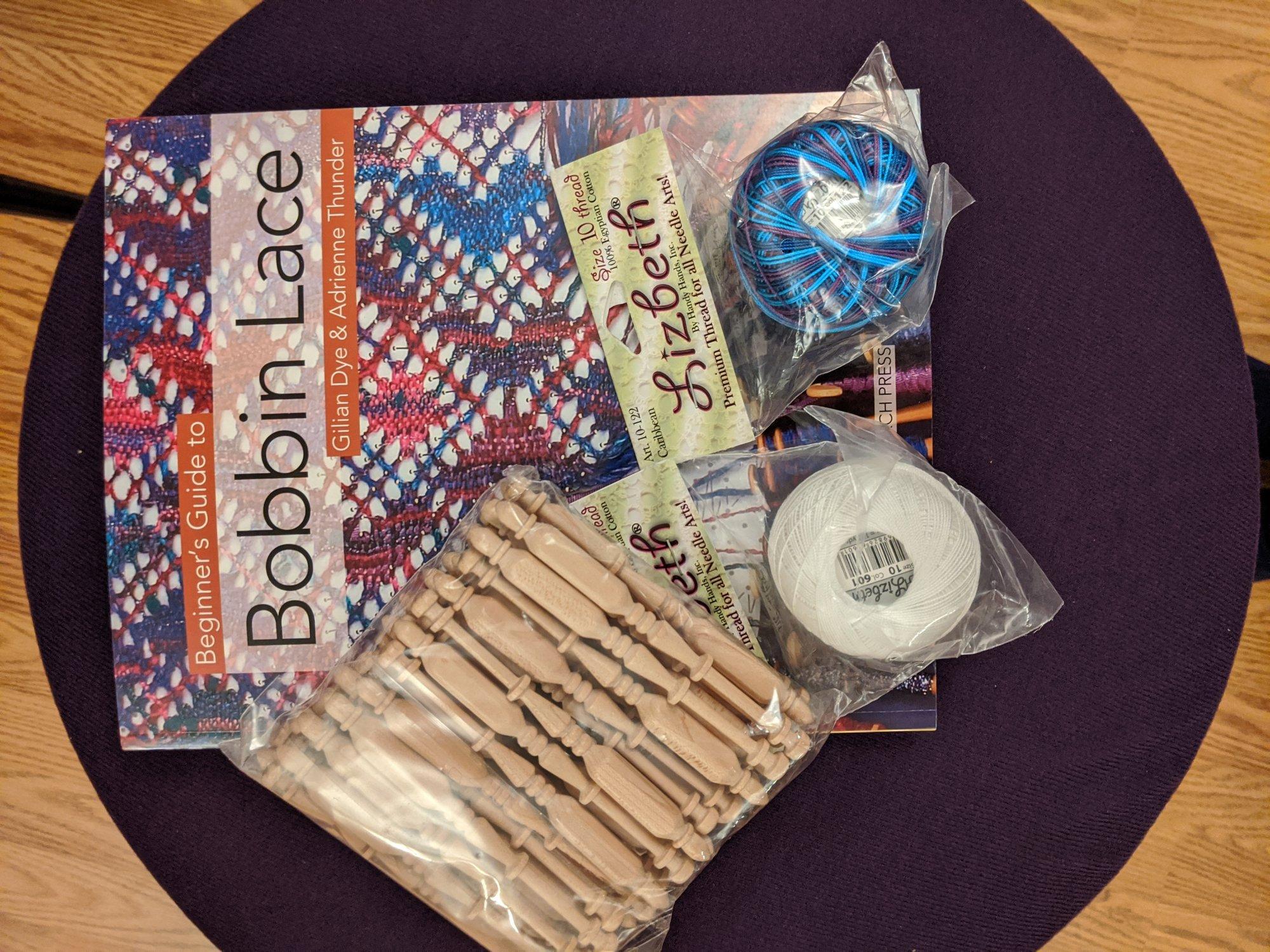 Beginners Bobbin Lace Kit