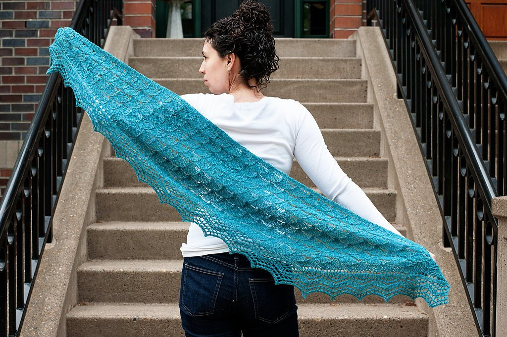 Finders Keepers Shawl Kit