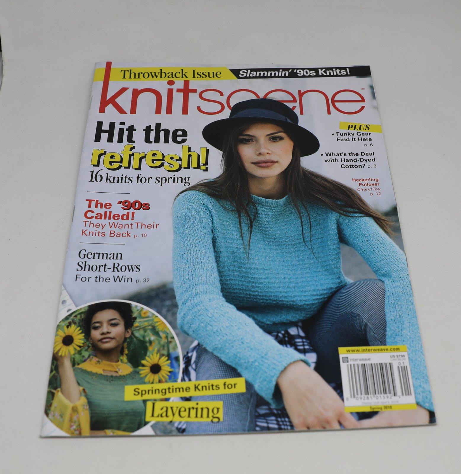 Knitscene Magazine April 2018