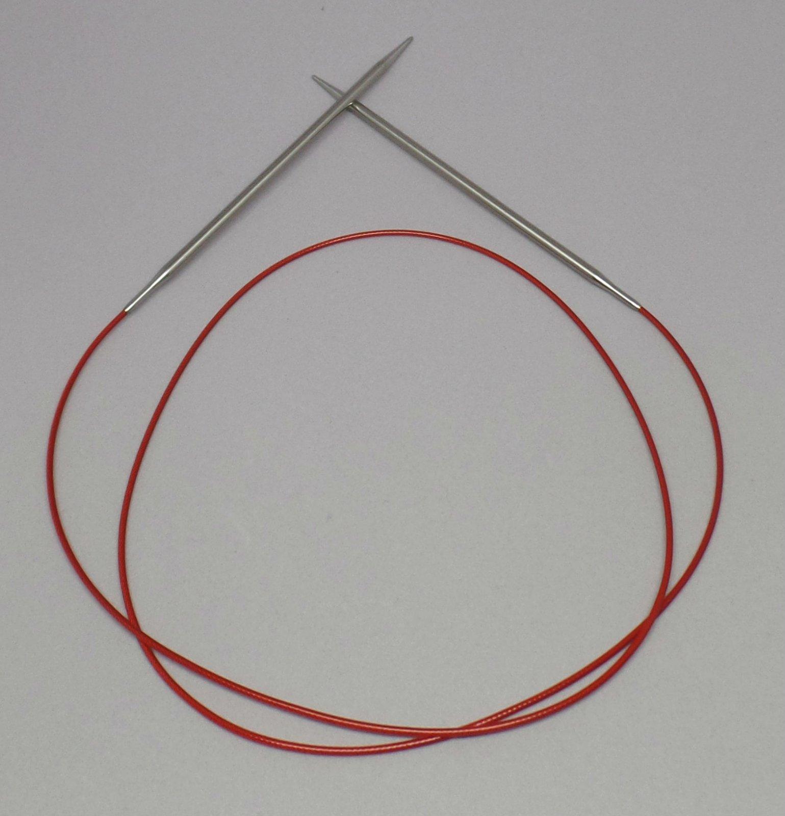 ChiaoGoo Red Lace Circular Needles (US 0-5)