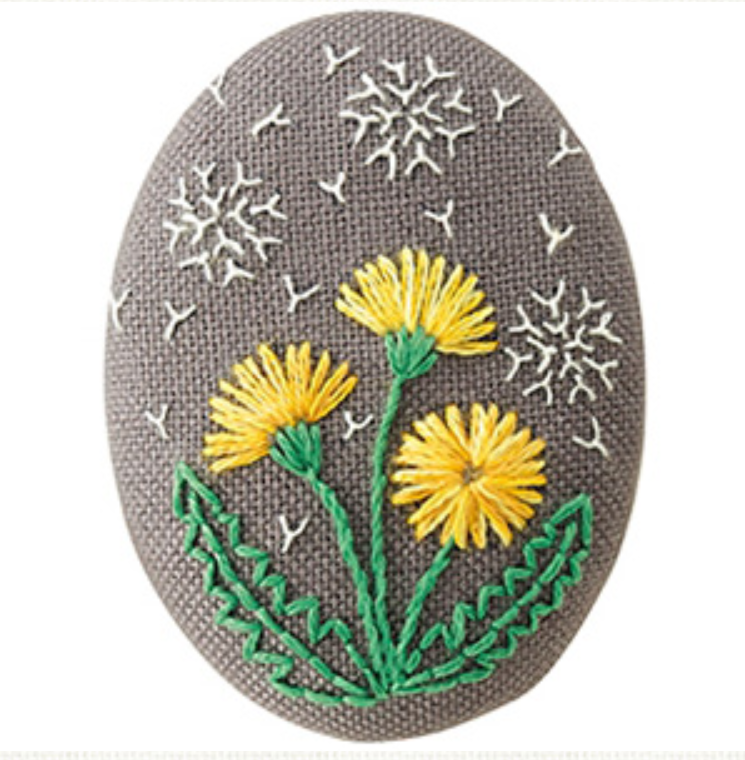 Olympus Embroidery Brooch Kit
