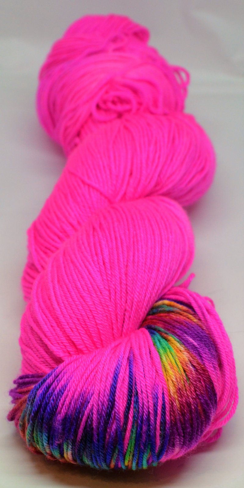 Alexandra's Breast Cancer Awareness Yarn