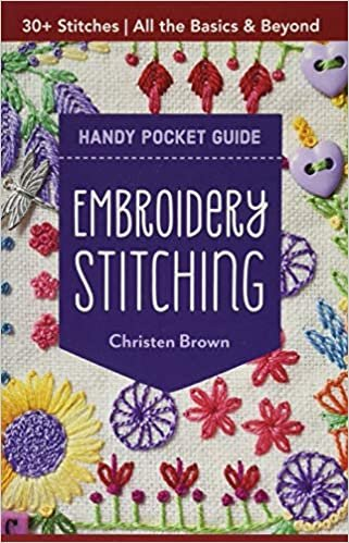 Embroidery Stitching Handy Pocket Guide (Pre-Order)