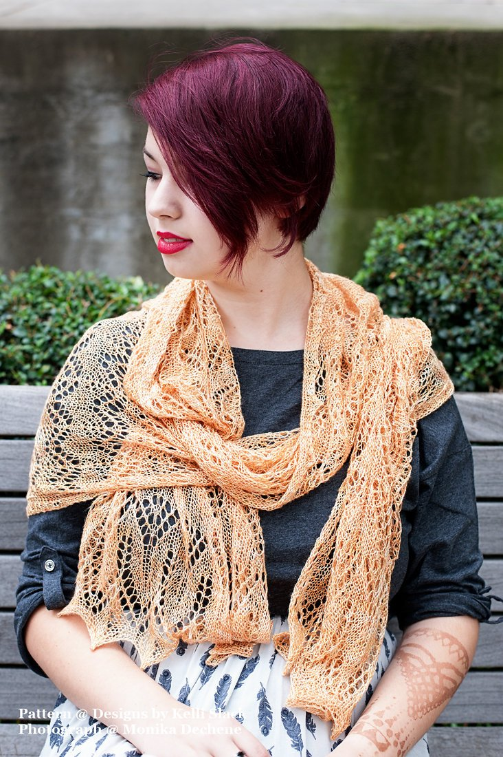 Emmer Wheat Shawl PDF