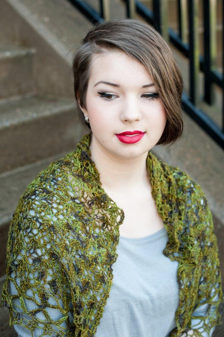 Cadafel Shawlette (Crochet)