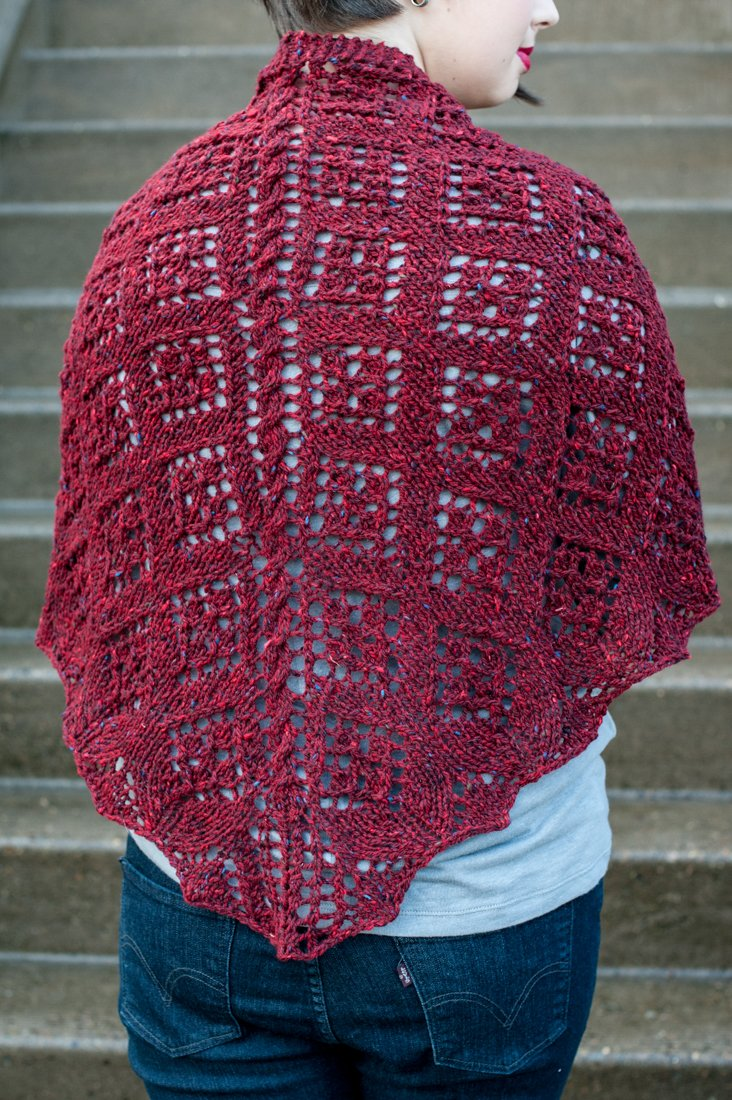 Belle of Baltimore Shawl