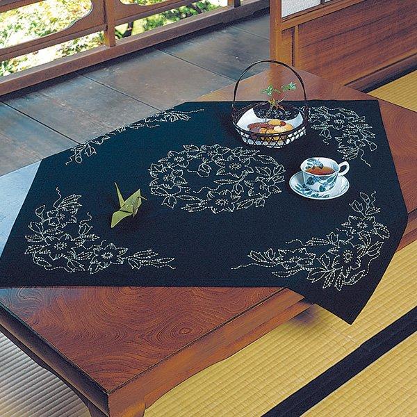 Sashiko Small Tablecloth Kit (Japanese)