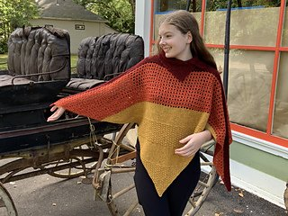 Twisted Terraces Poncho Kit