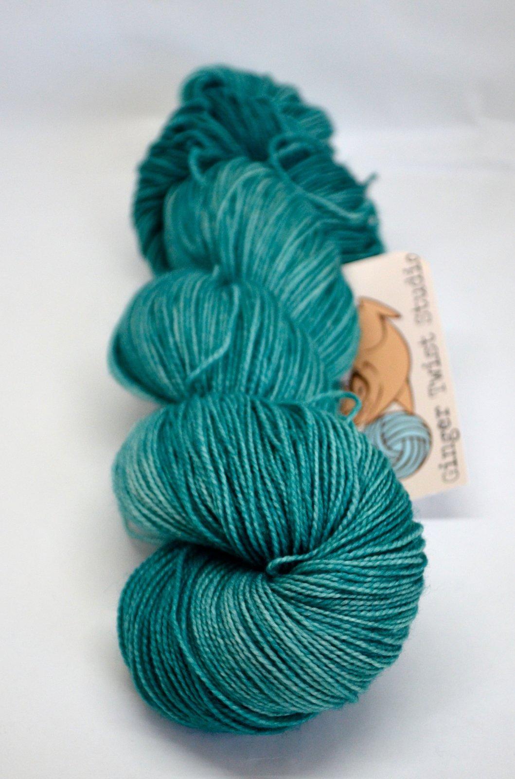 Ginger Twist Sheepish Sock