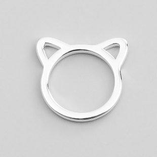 Metallic Cat Stitch Markers