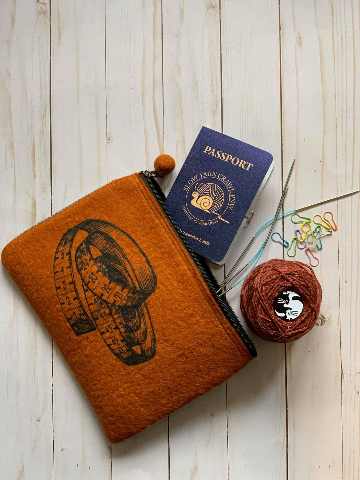 2020 Slow Yarn Crawl Passport