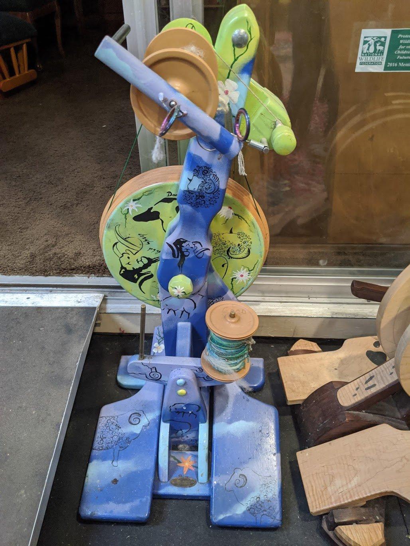 Used Majacraft Suzie Wheel- Painted