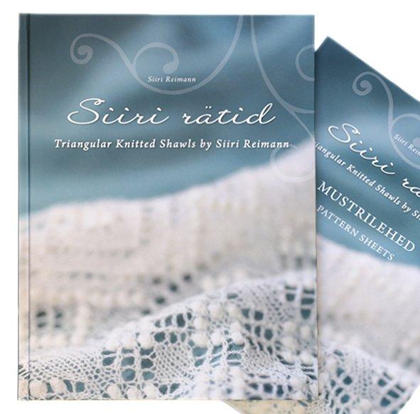 Siiri Ratid. Triangular Knitted Shawls by Siiri Reimann