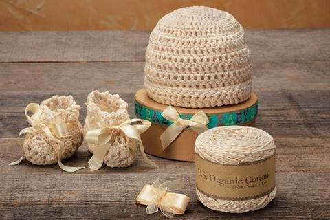 Appalachian Baby Crochet Cuff Cap & Bootie Kit