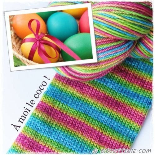 Biscotte Yarn Bis-Sock A Moi le Coco