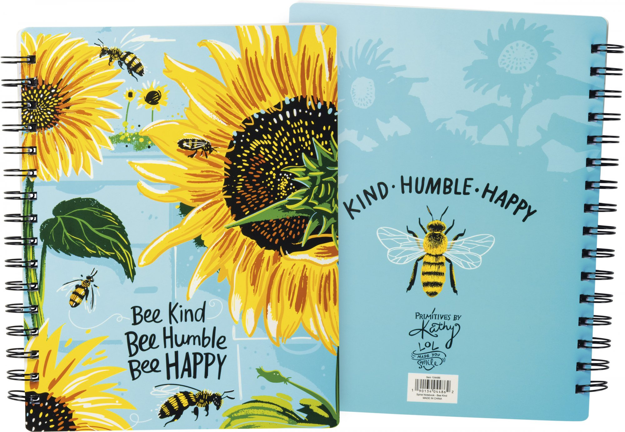 Bee Kind Spiral Notebook