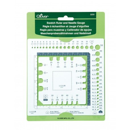 Swatch Ruler and Needle Guage