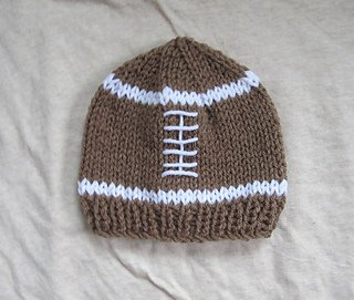 Child's Knitted Football Hat Kit