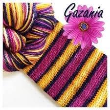 Biscotte Yarn Bis-Sock Gazania