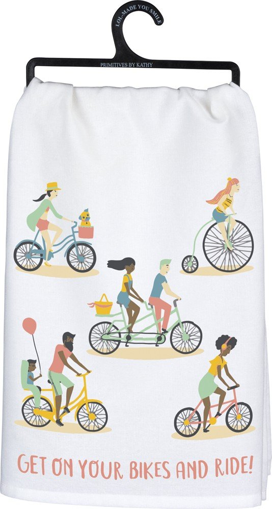 Get On Your Bikes And Ride! Towel