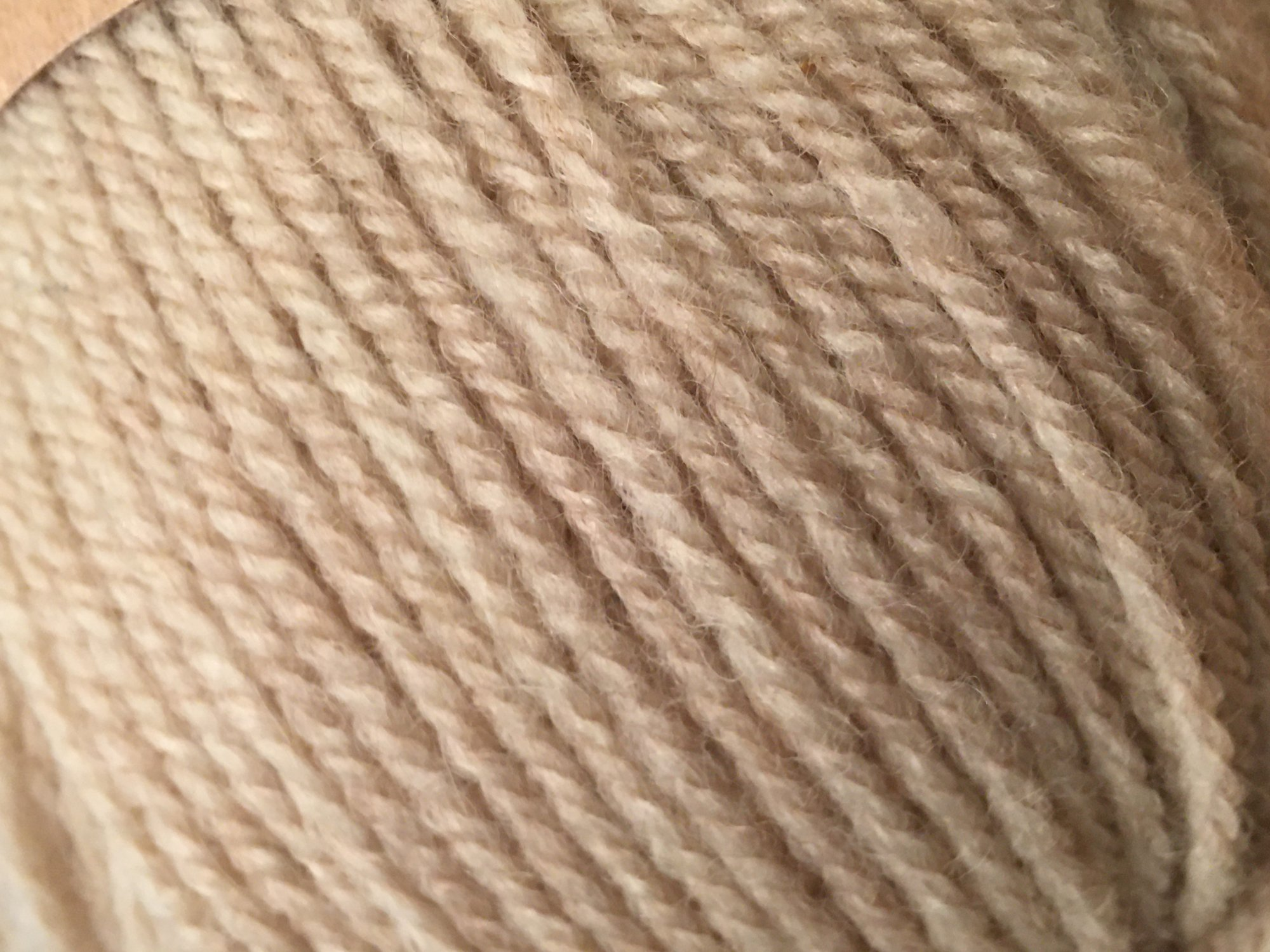 HAYFIELD Double knitting with wool (TAN)